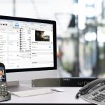 SENSORfon ST 56 IP silber, Lifestyle