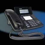 SENSORfon ST 53 IP schwarz, mit Hintergrund