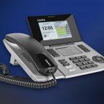 SENSORfon ST 56 IP silber, mit Hintergrund