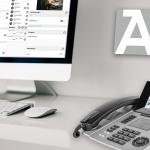 Schreibtisch Dashboard Sensorfon ST 56 IP