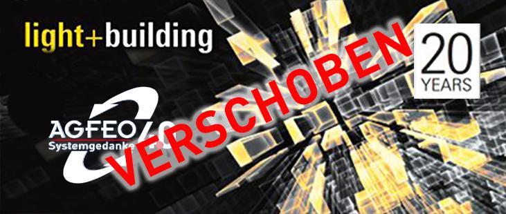 AGFEO auf der light+building 2020 - VERSCHOBEN!!!