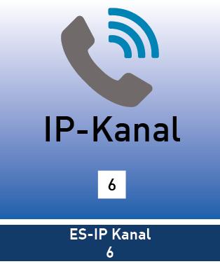 ES-IP Kanal 6 Lizenz
