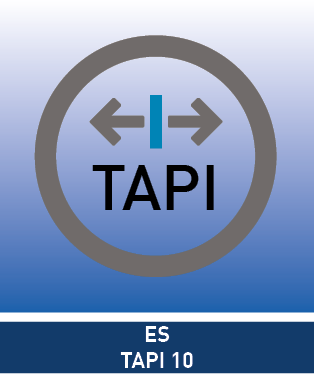 ES-TAPI 10 Lizenz