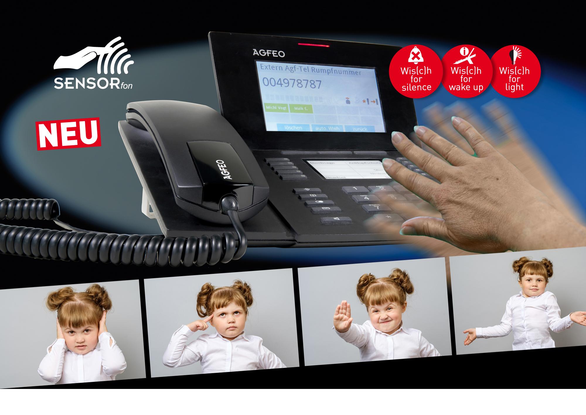 Die neuen Systemtelefone von AGFEO