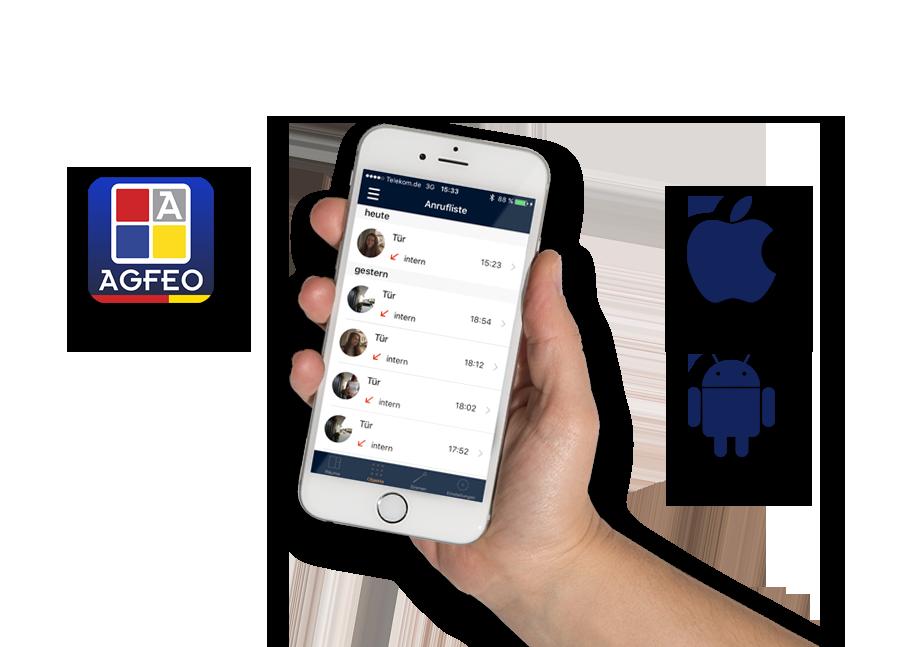 AGFEO Dashboard App