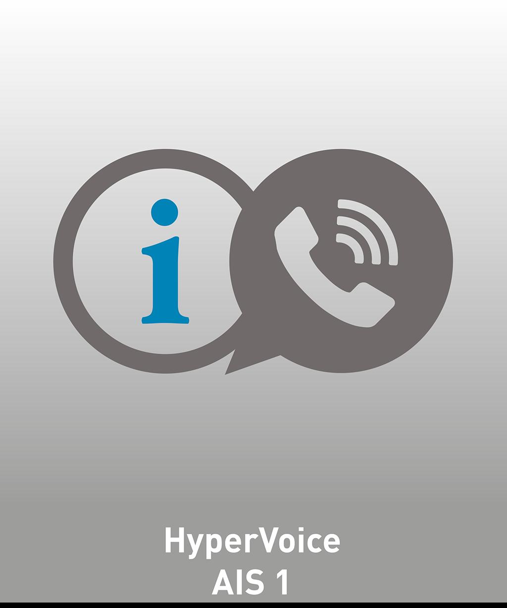 HyperVoice AIS 1 Lizenz