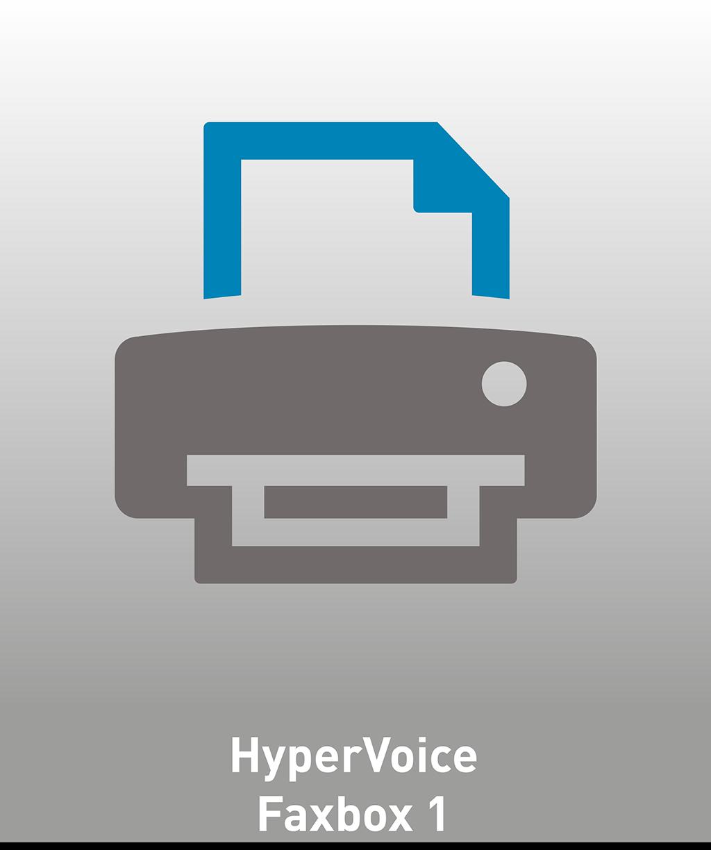 HyperVoice Faxbox 1 Lizenz