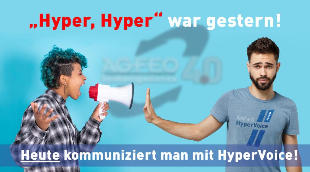 Hyper, Hyper war gestern