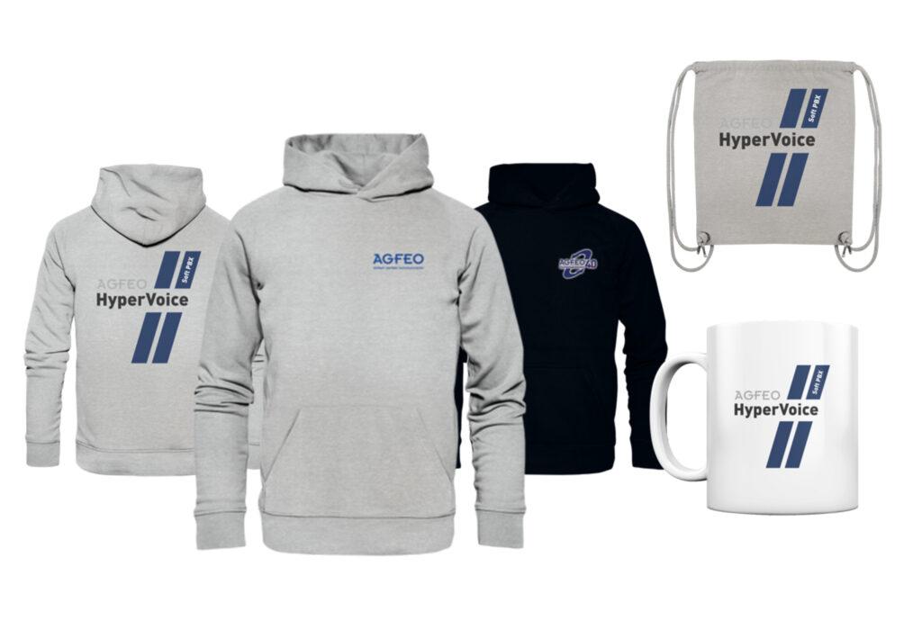 NEU: AGFEO Merchandising