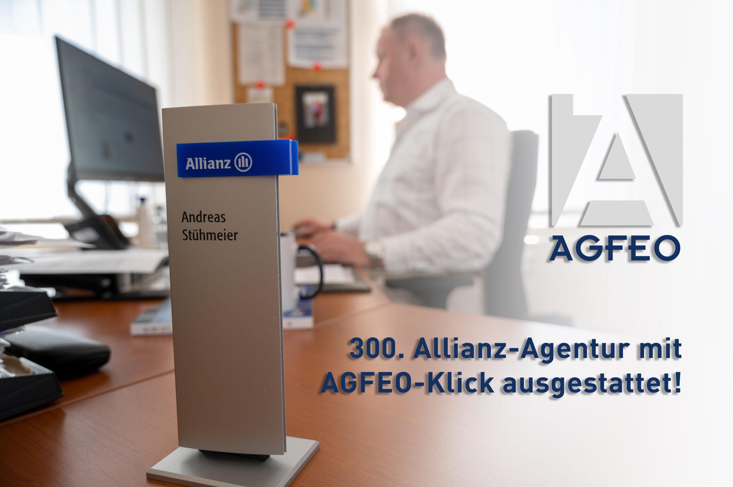300. Allianz-Agentur mit AGFEO Klick ausgestattet