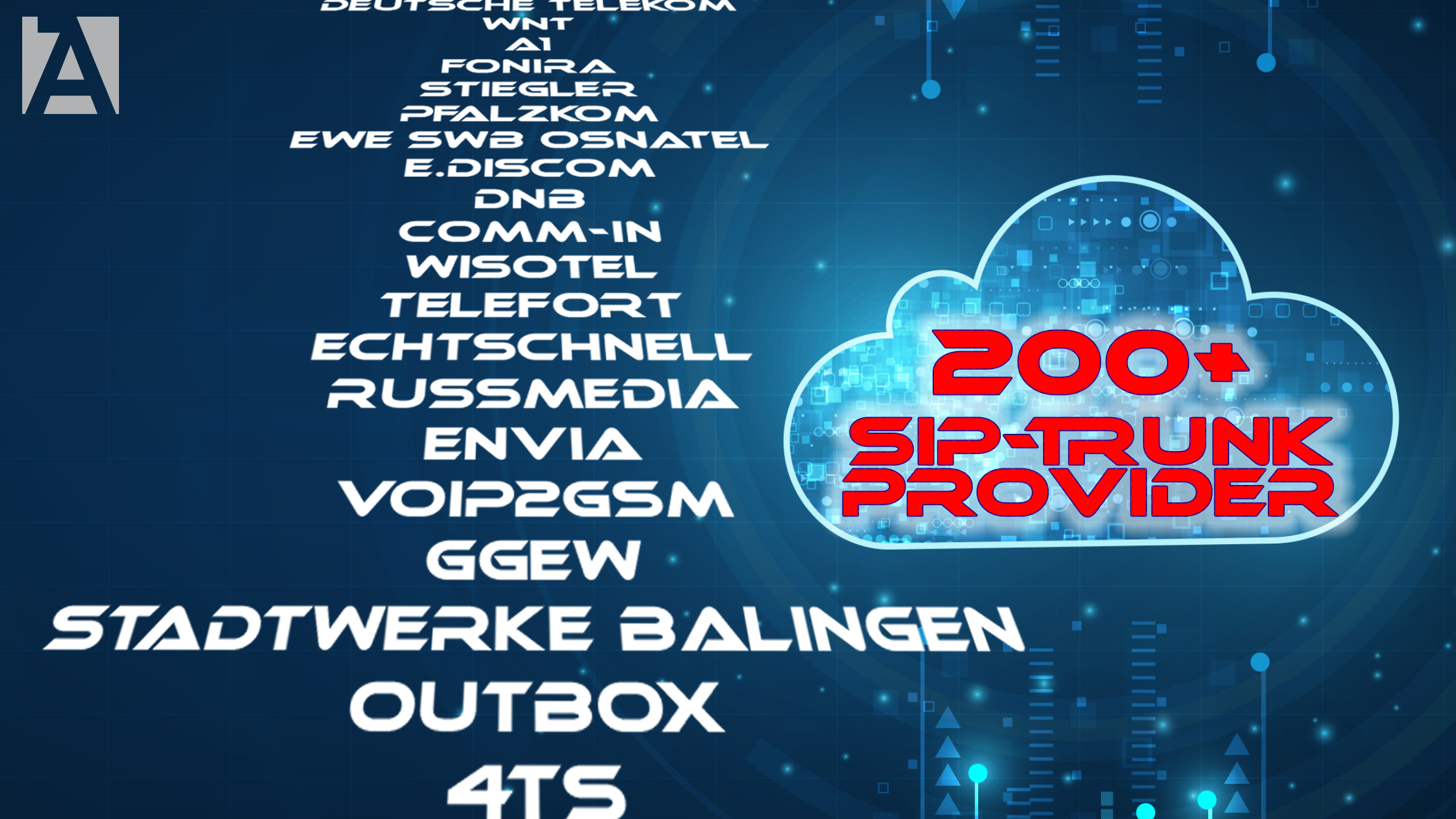 AGFEO knackt die 200er Marke an SIP-Providern