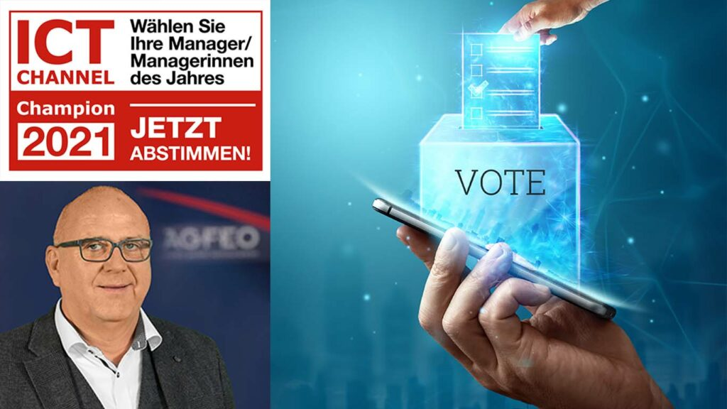 """ICT Channel - Gerald Berchtenbreiter erneut bei """"ICT CHANNEL Champions""""-Wahl nominiert"""